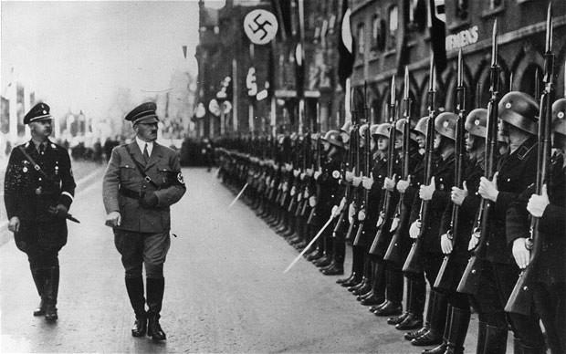 hitler parade