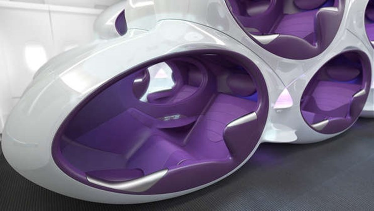 The future of air travel centives for Future interieur